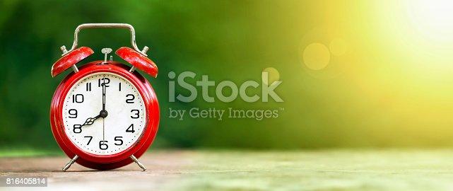 816405814 istock photo Time, summertime banner 816405814