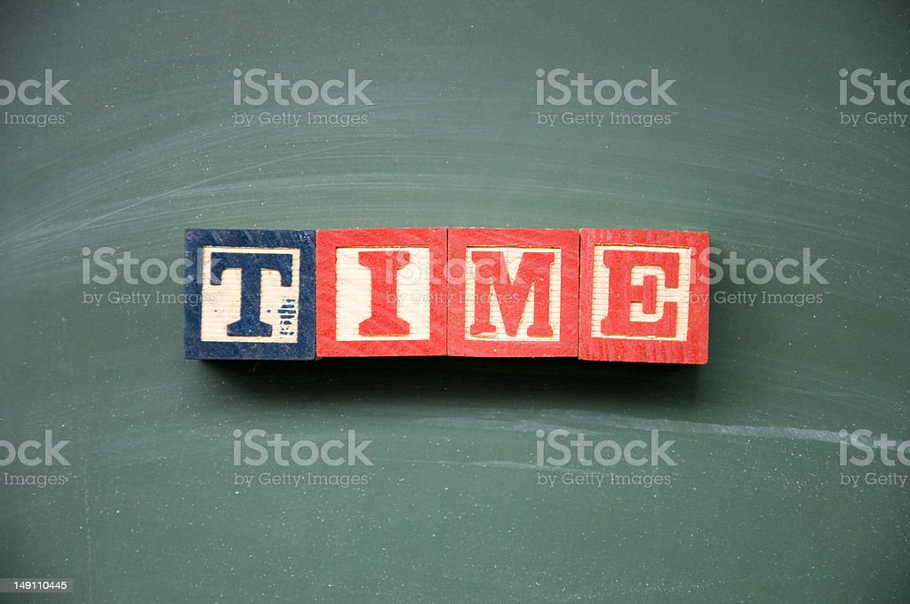 time symbol royalty-free stock photo