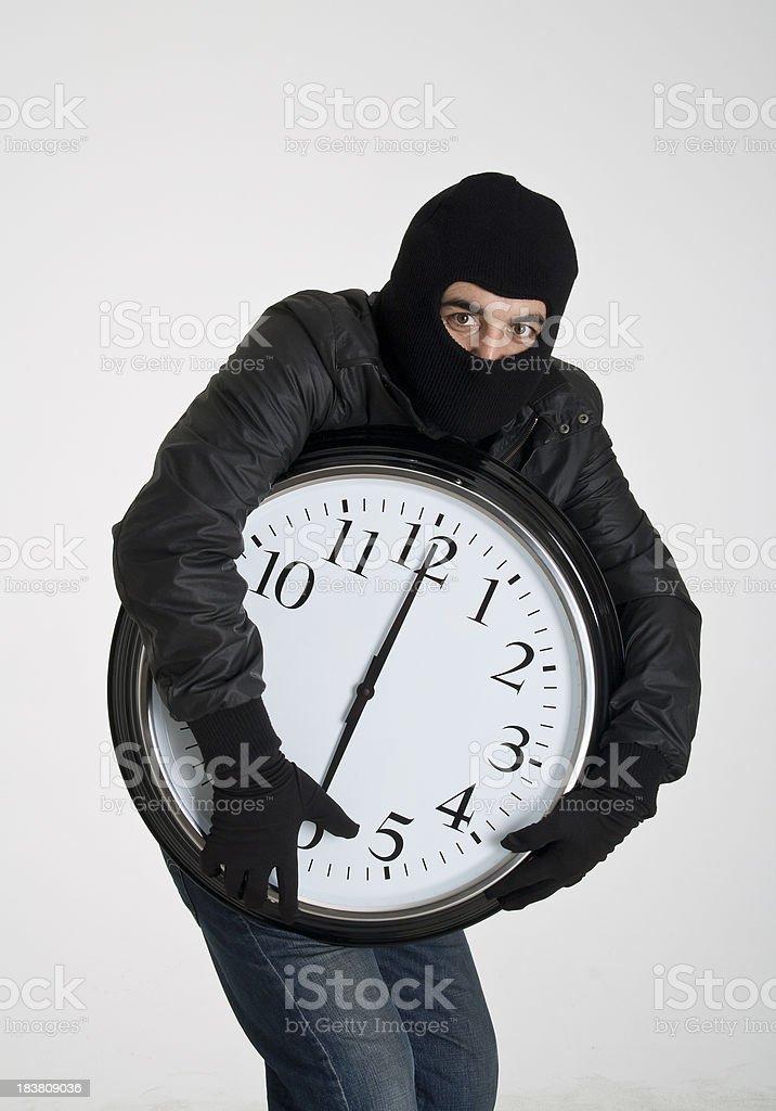 Time thief royalty-free stock photo