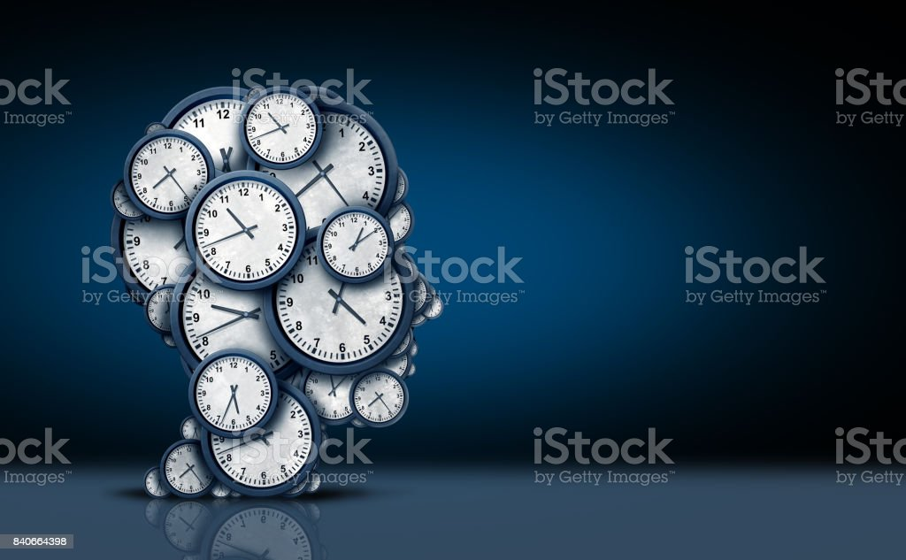 Time Thinking Concept stock photo
