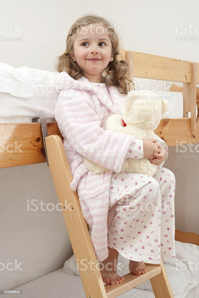 Time to bed royalty-free stock photo