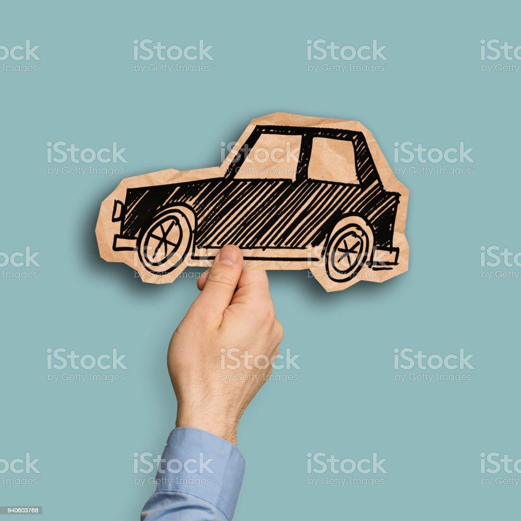 Zeit für ein neues Auto kaufen – Foto