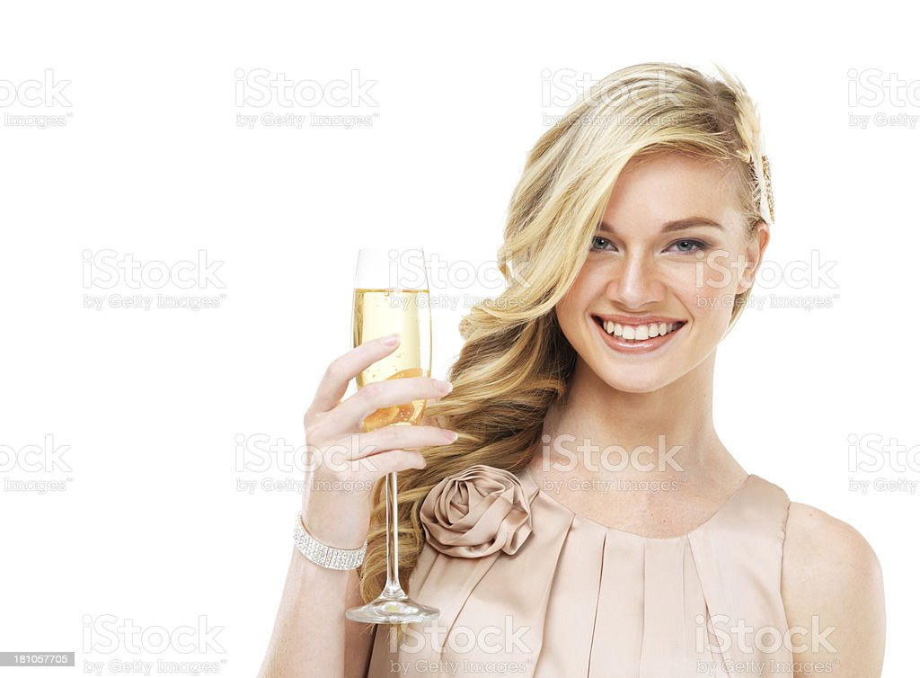 Time to celebrate royalty-free stock photo