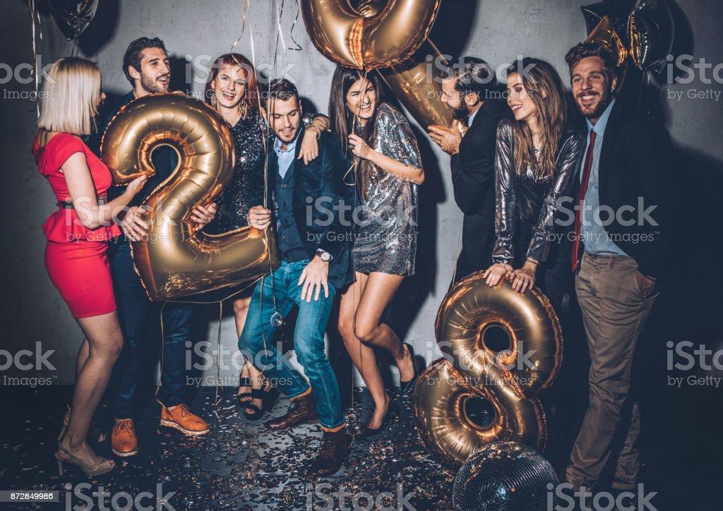 Zeit zum Feiern  – Foto