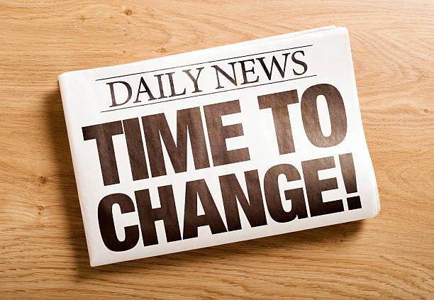 Zeit zu ändern! – Foto