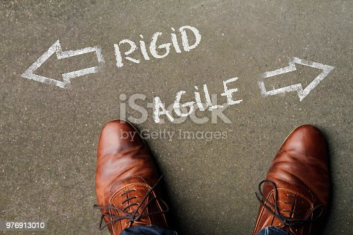 istock Time to decide: Rigid or Agile? 976913010
