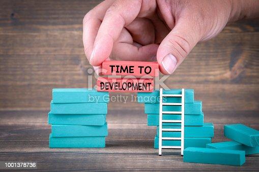 istock Time To Development 1001378736