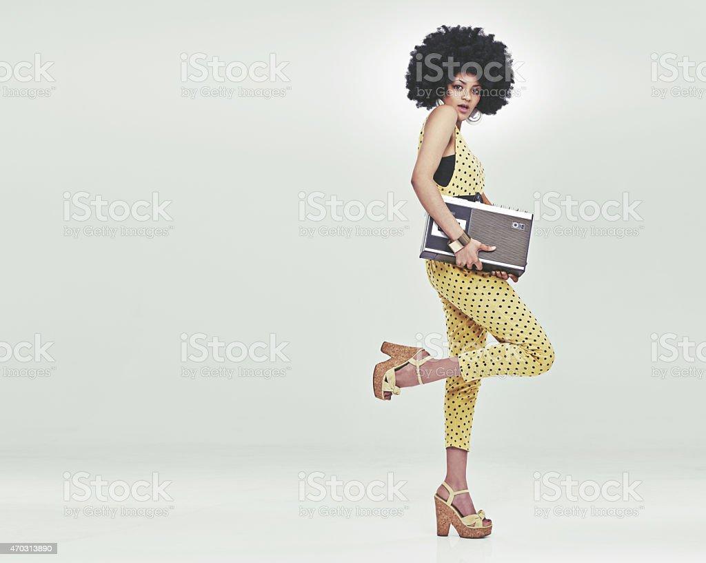 Time to disco! stock photo