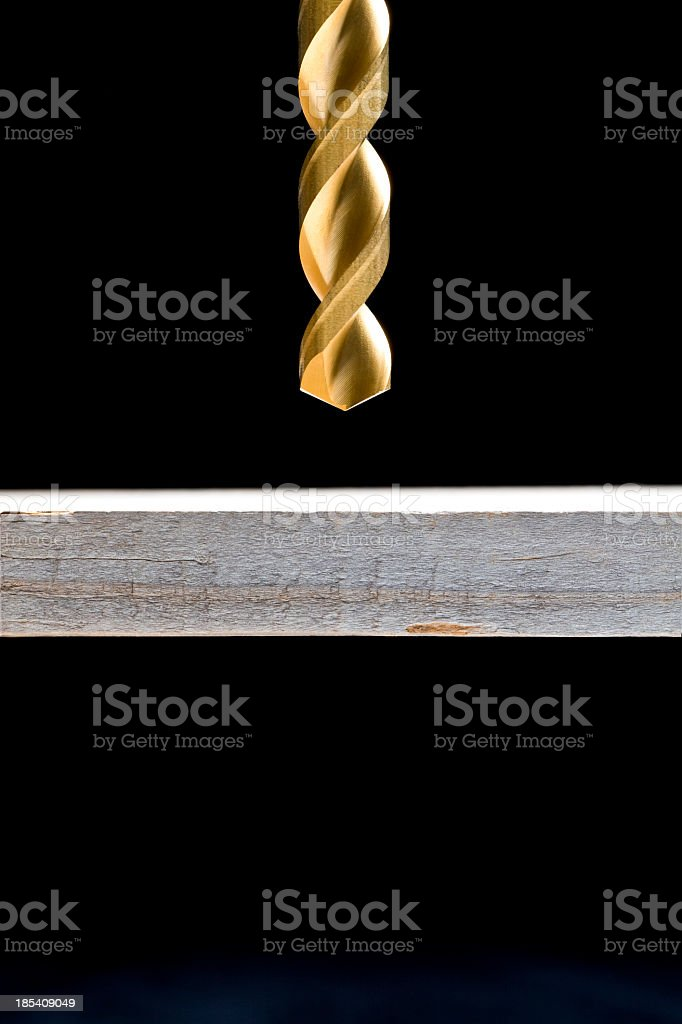 Time to Drill royalty-free stock photo