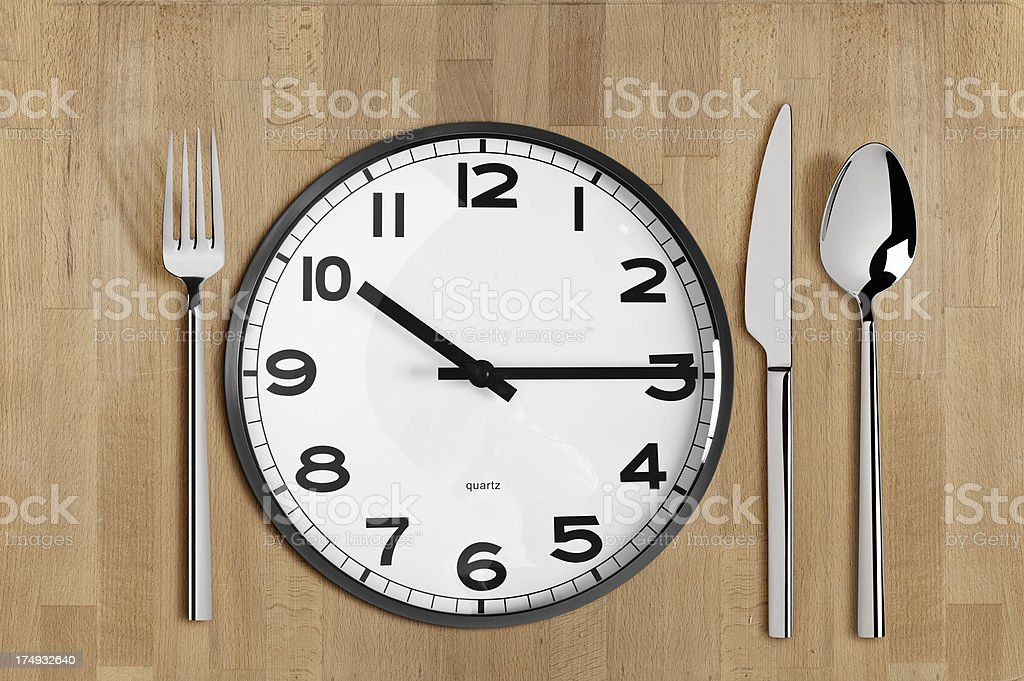 Time to Eat royalty-free stock photo