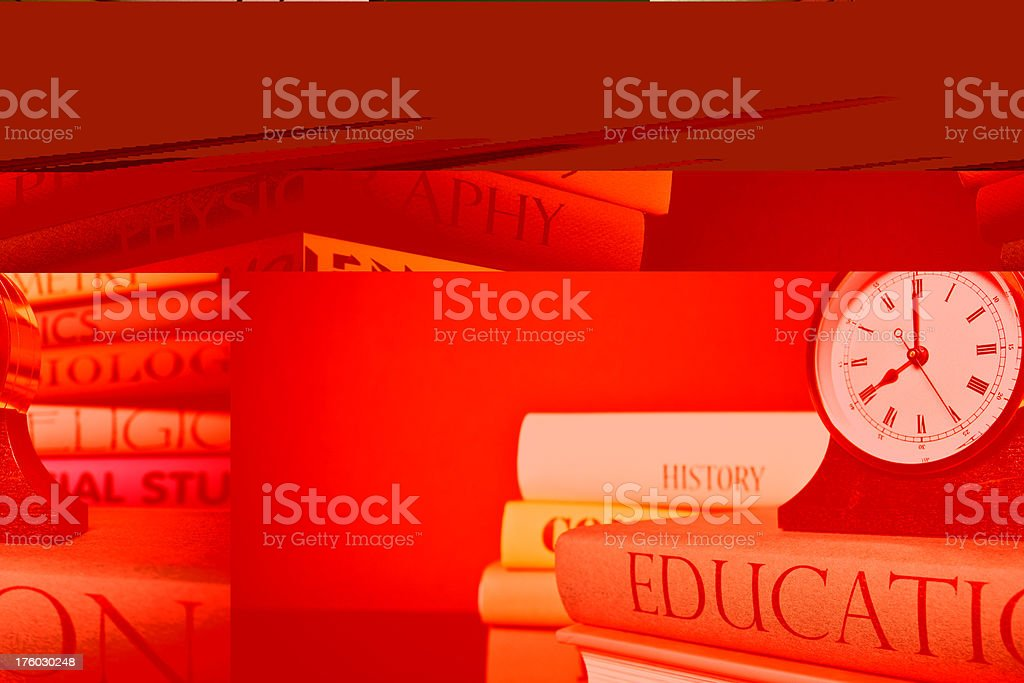 Time to educate royalty-free stock photo