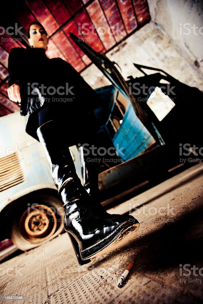 Time to end it royalty-free stock photo