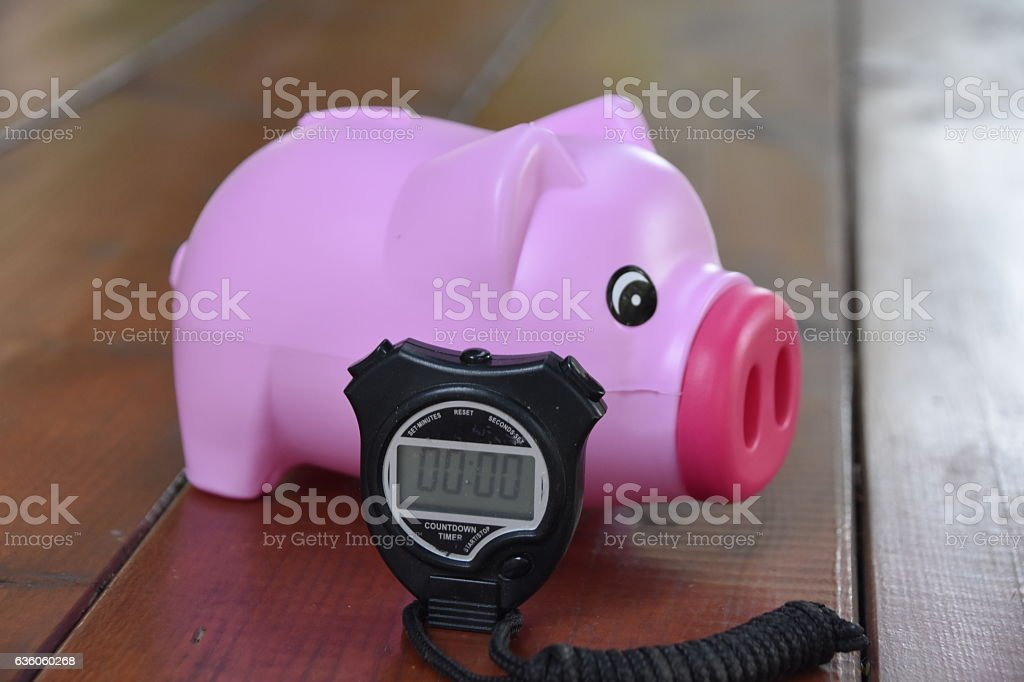 Time  TO financial decisions stock photo