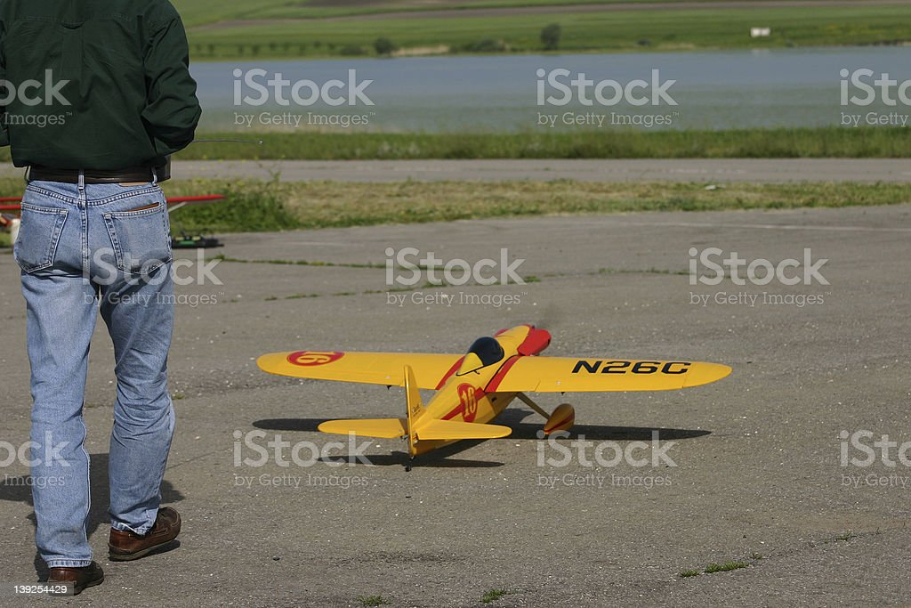 Time to flight royalty-free stock photo