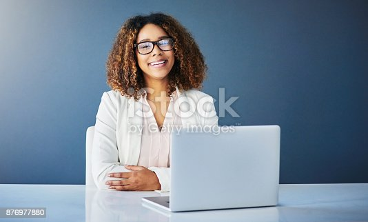 istock Time to get my business stats up 876977880