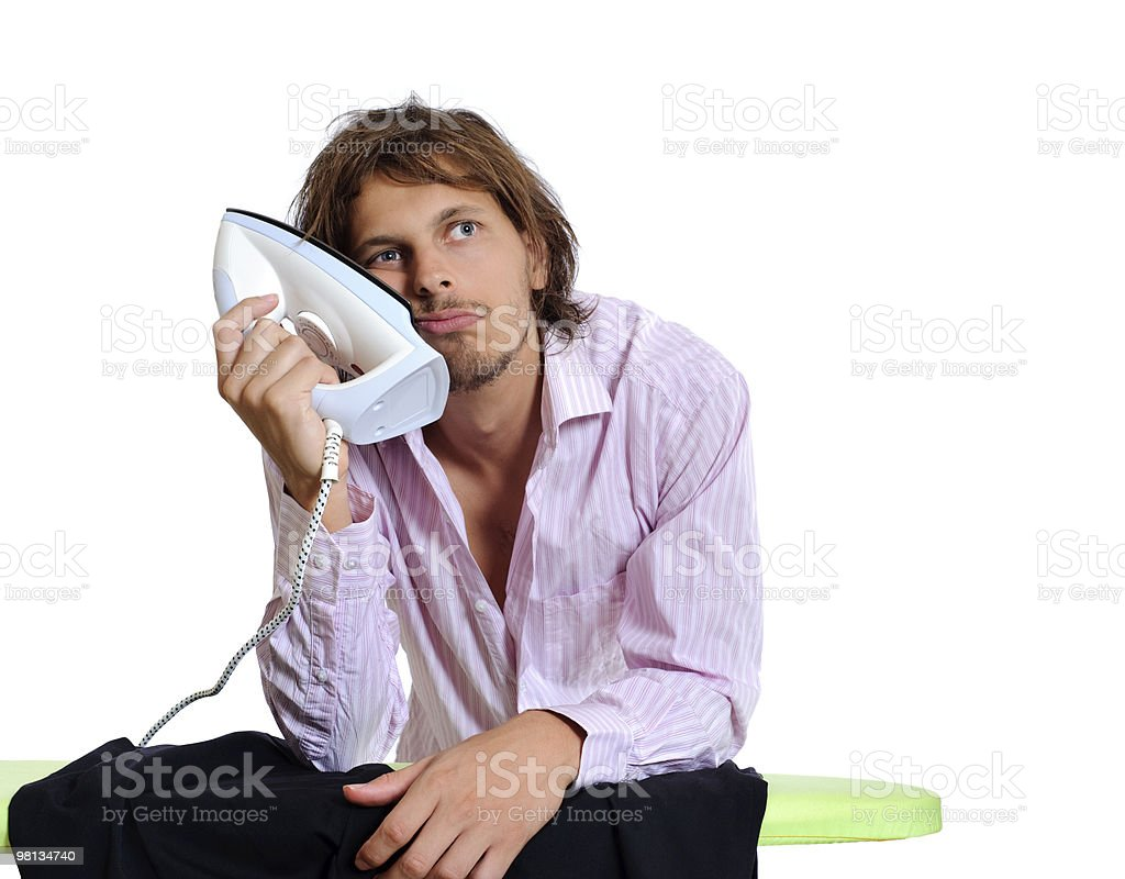 Time to get ready for work royalty-free stock photo