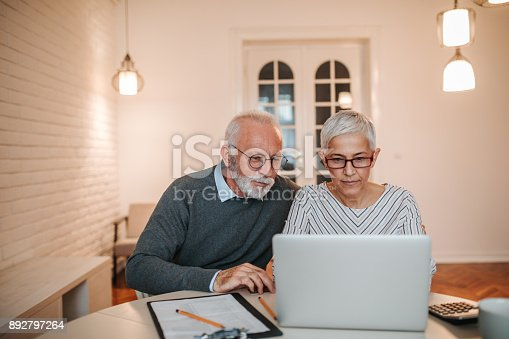istock Time to go over the budget 892797264