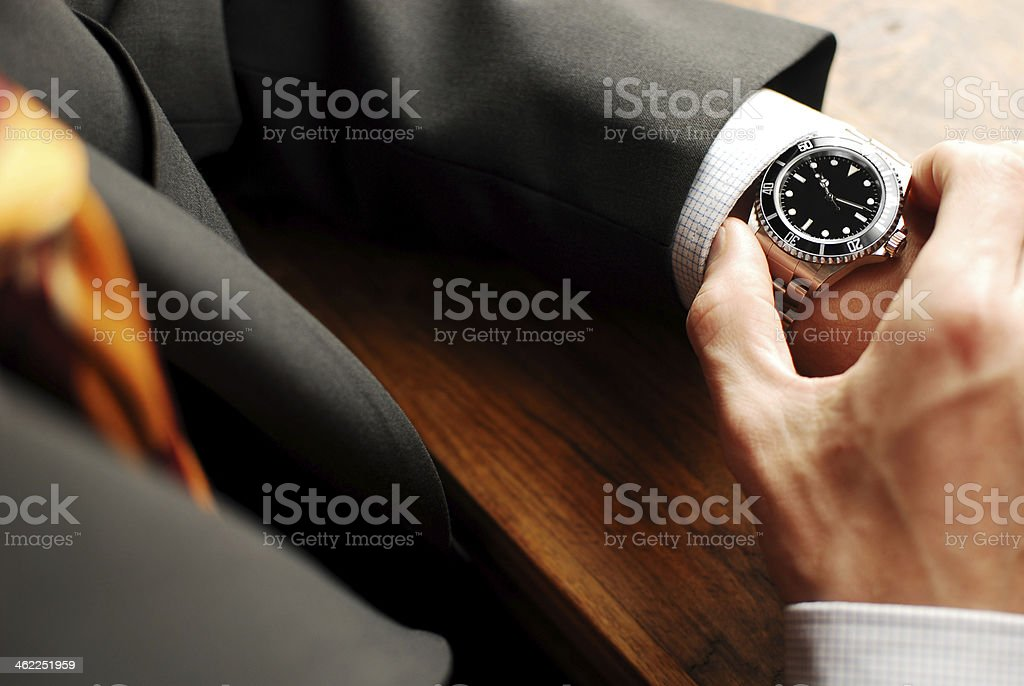 Time to go! stock photo