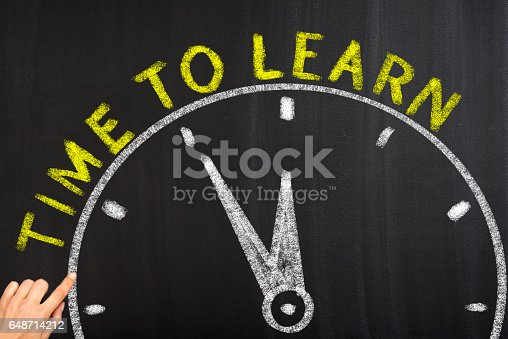 istock Time to learn 648714212