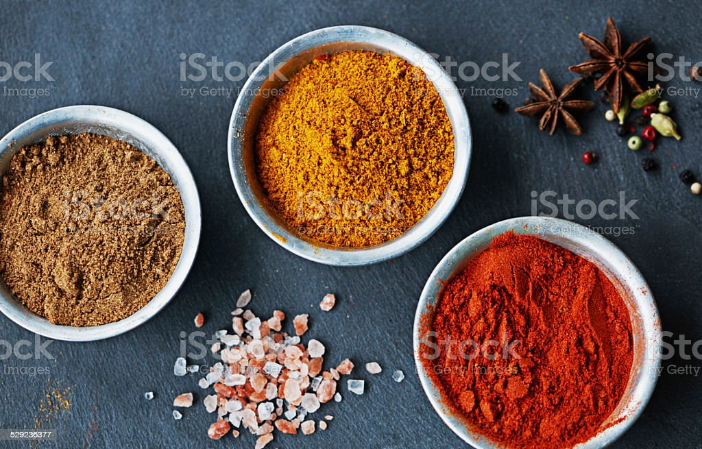 Time to make that curry stock photo