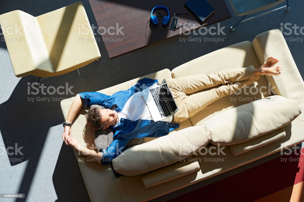 Time to meditating stock photo