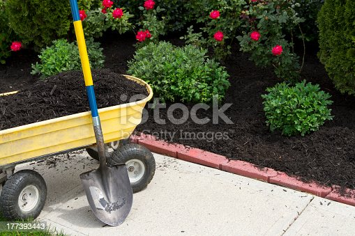 Its about that time to mulch around the neigboorhood.