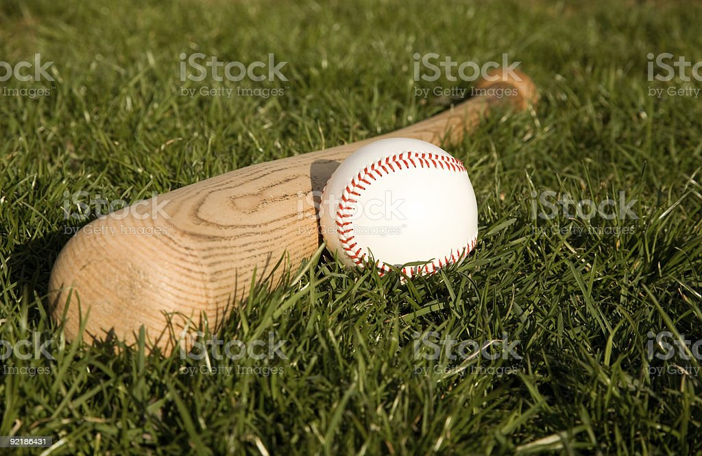 Time to Play Ball royalty-free stock photo