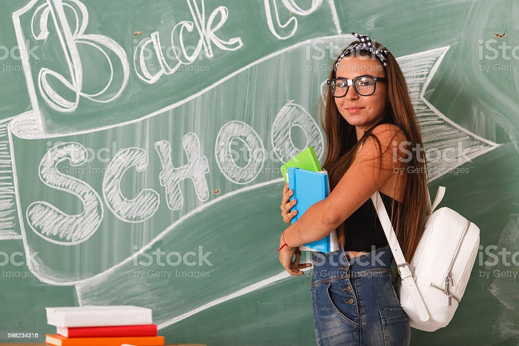 Time to prepare for school foto royalty-free