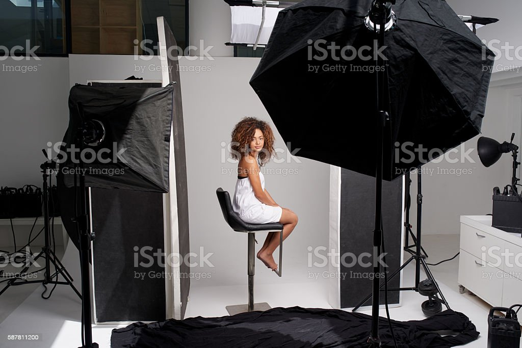 Time to put natural beauty in the spotlight stock photo