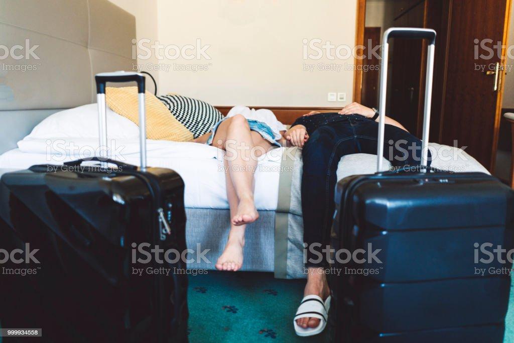 Zeit zum Entspannen - Paar im Urlaub – Foto