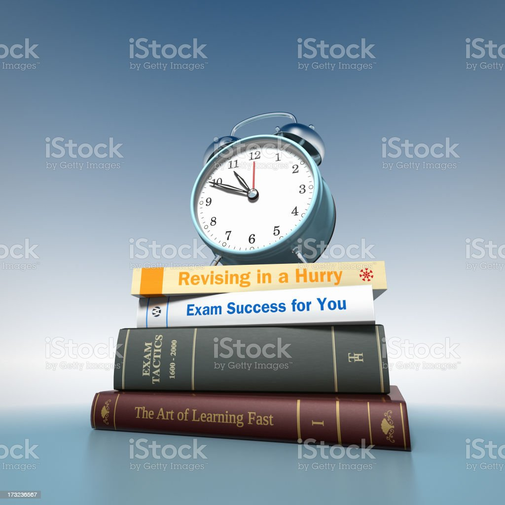 Time to Revise royalty-free stock photo