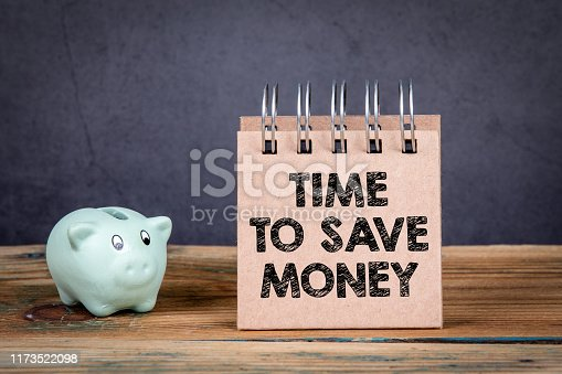 614338352istockphoto Time to save money 1173522098