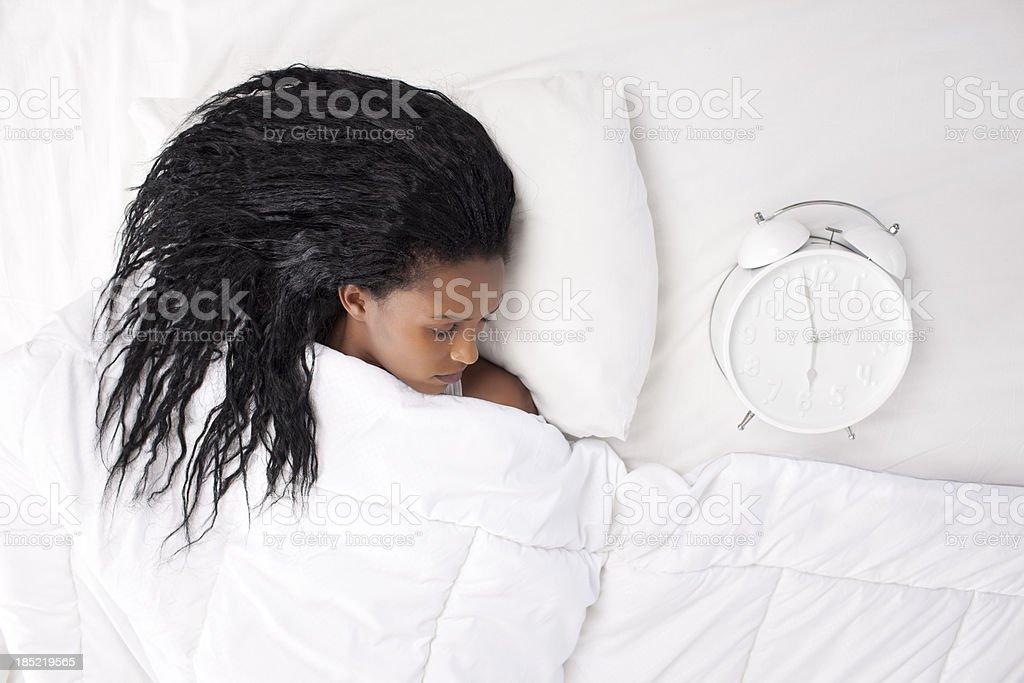Time to sleep. royalty-free stock photo