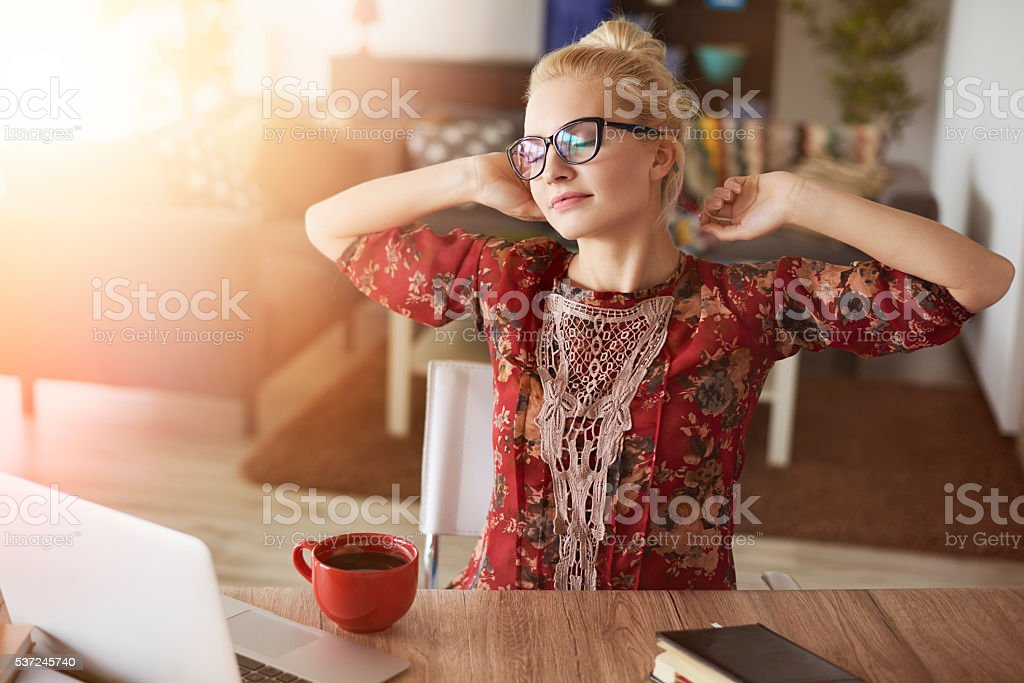 Zeit für einen neuen Tag - Lizenzfrei Arbeiten Stock-Foto