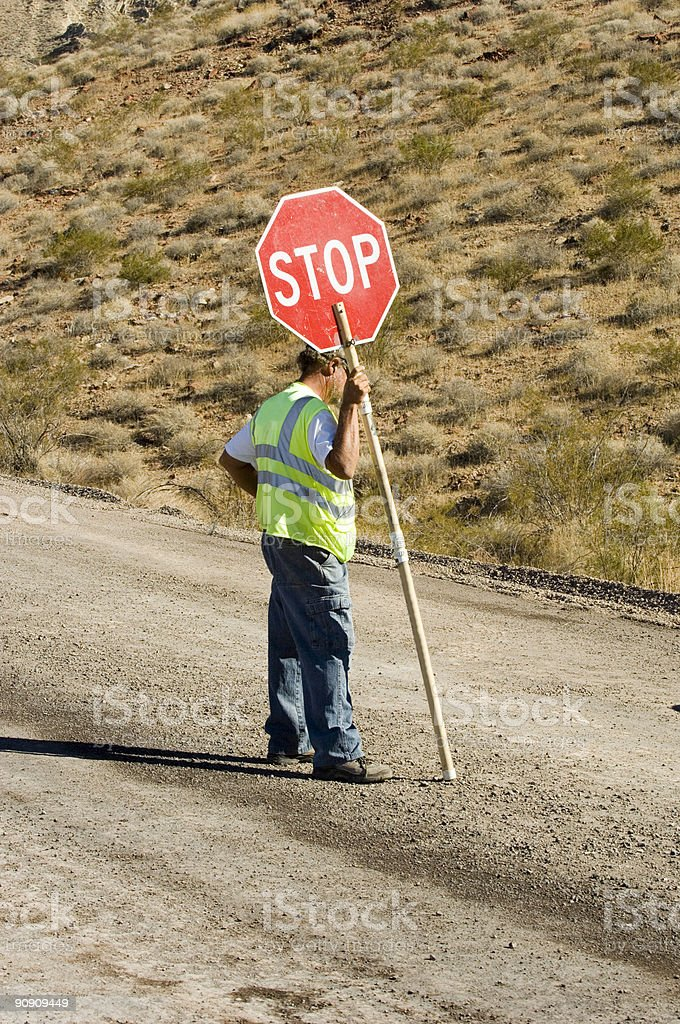 Time To Stop And .............. stock photo