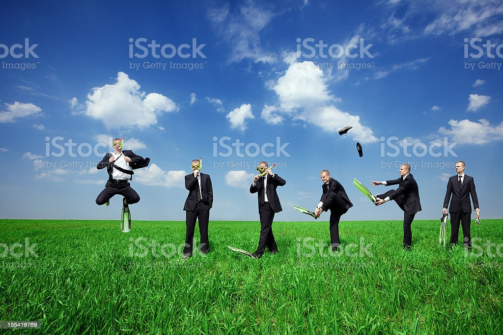 Time to take a rest royalty-free stock photo