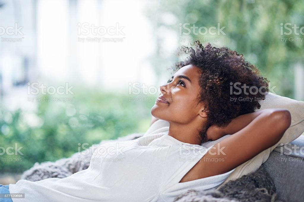 Time to unwind... stock photo