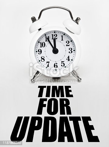 istock Time to Update (Click for more) 1137866342