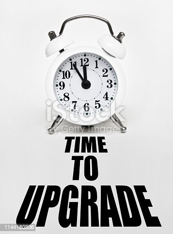 istock Time to UPGRADE / Clock concept (Click for more) 1144180336