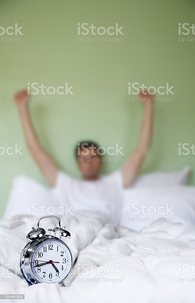 Time to Wake Up royalty-free stock photo
