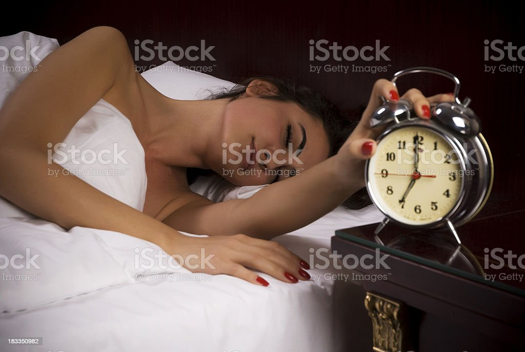 Time to wake up! royalty-free stock photo