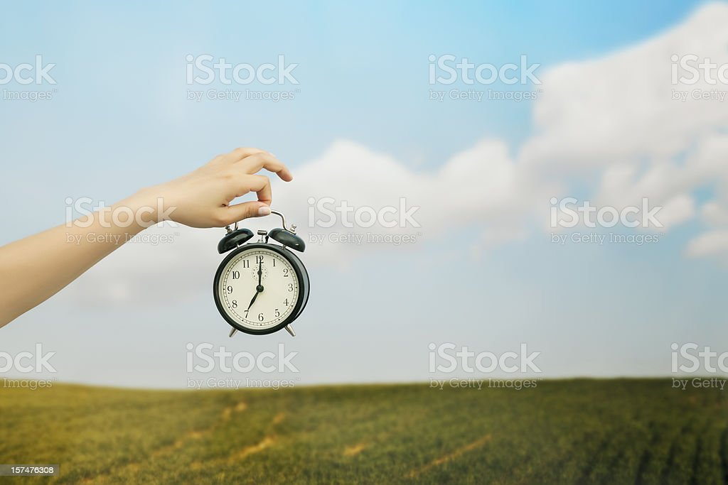 time to wake-up royalty-free stock photo