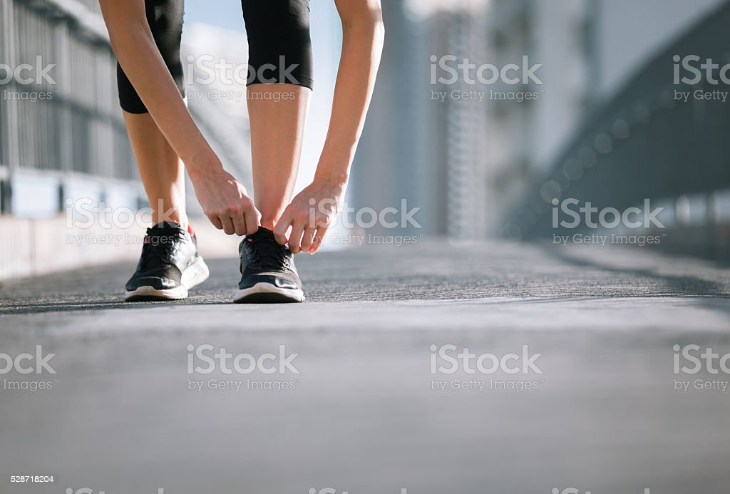 Time to workout. stock photo