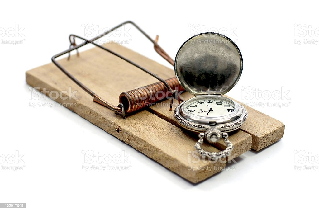 Time trap stock photo