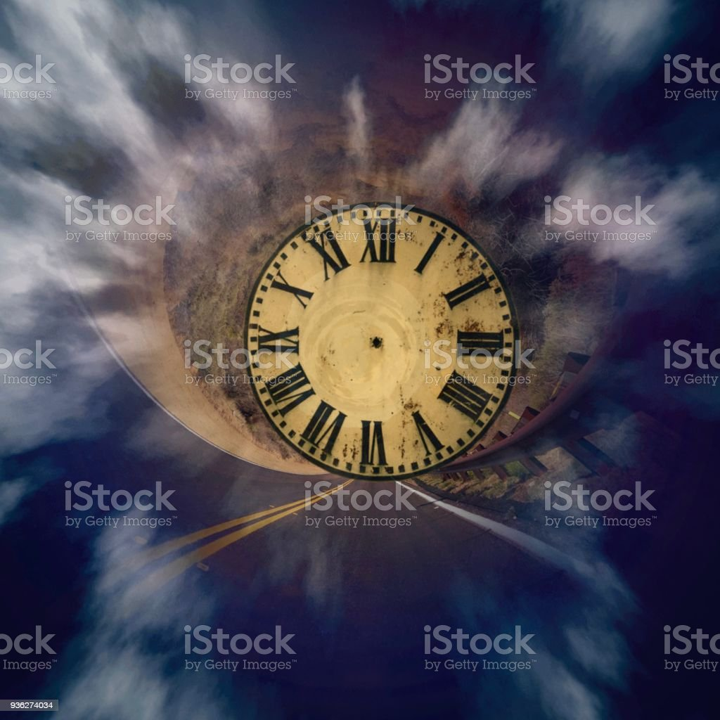 Clock, time travel, time