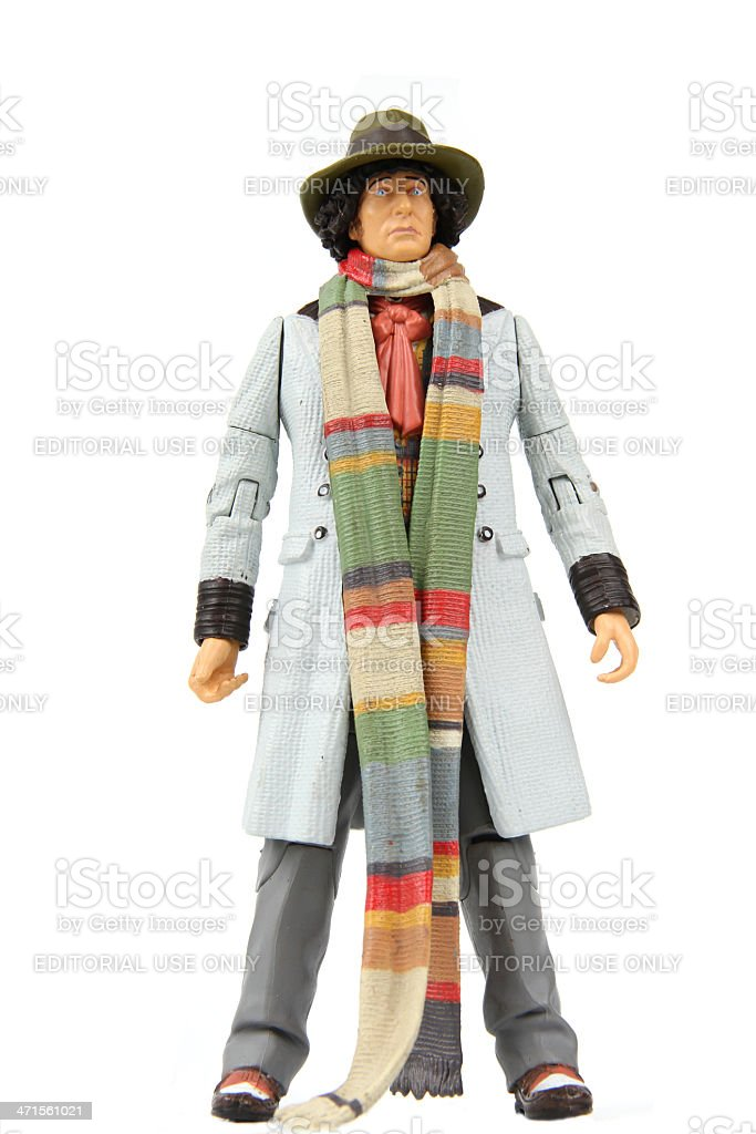 Time Traveling Scarf royalty-free stock photo