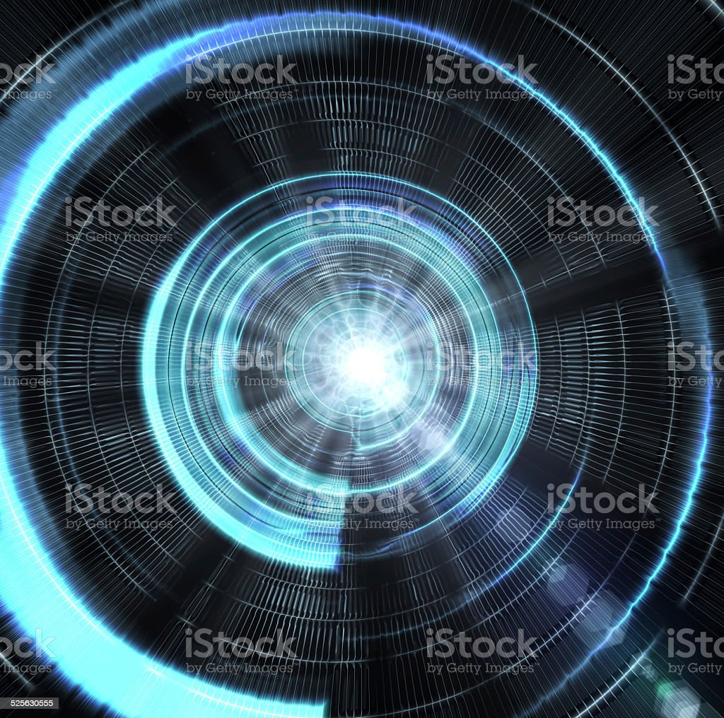 Time Tunnel stock photo