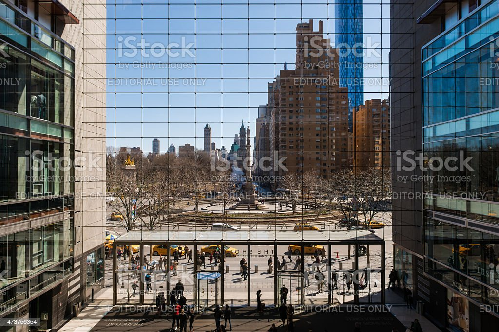 TIme Warner Center Mall stock photo