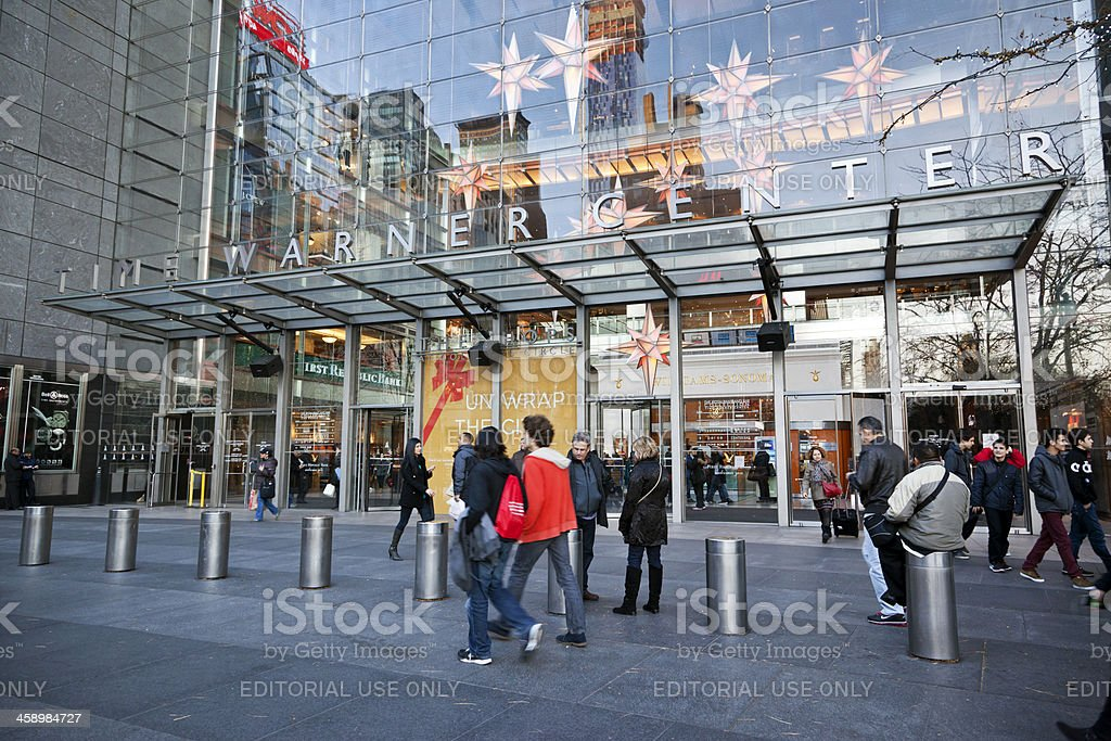 Time Warner Center NYC stock photo
