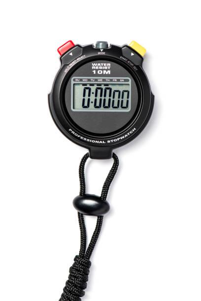 een horloge tijd - stopwatch stockfoto's en -beelden